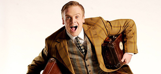 Owain Arthur returns to One Man, Two Guvnors