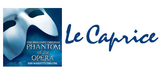 The Phantom Of The Opera + 2 Course Pre-Theatre Dinner at Le Caprice