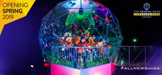 The Crystal Maze LIVE Experience West End